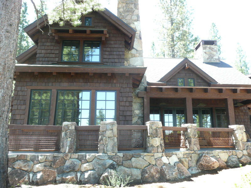 Shake Shingle Staining Tahoe Truckee